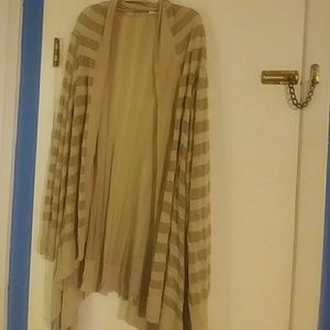 Calin Klein Gold duster size 3x